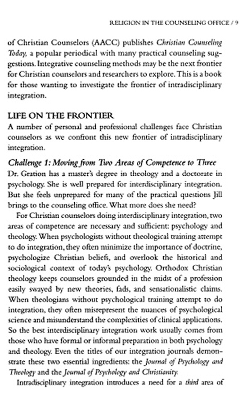 mark mcminn psychology theology and spirituality Read psychology, theology, and spirituality in christian counseling by mark r mcminn by mark r mcminn for free with a 30 day free trial read ebook on.
