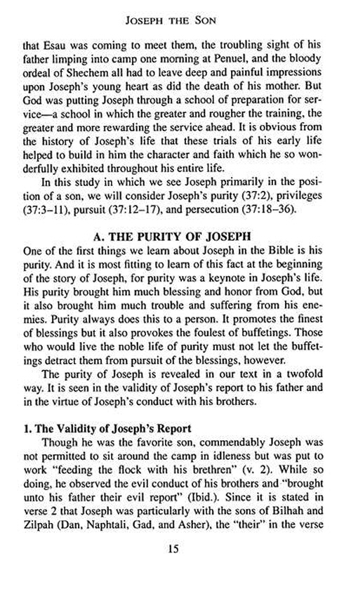 Bible biography series 27 vols logos bible software joseph the patriarch of character pronofoot35fo Gallery