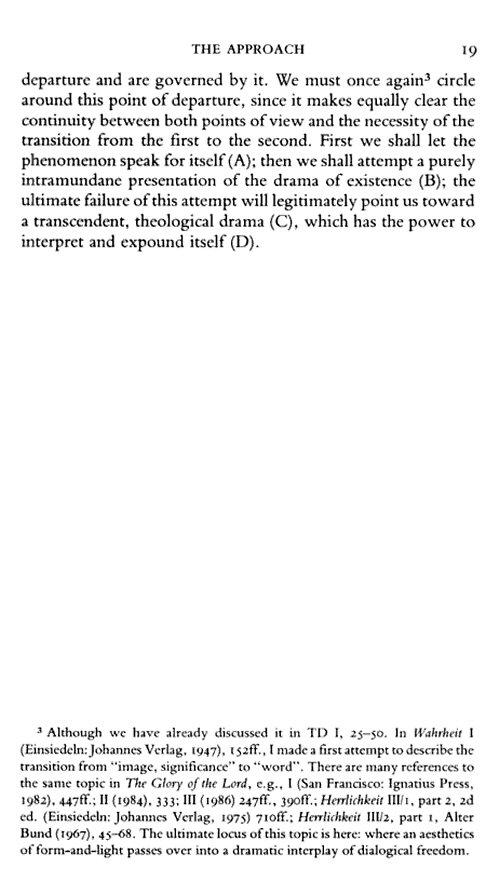 Hans Urs Von Balthasar S Theological Trilogy 16 Vols Logos