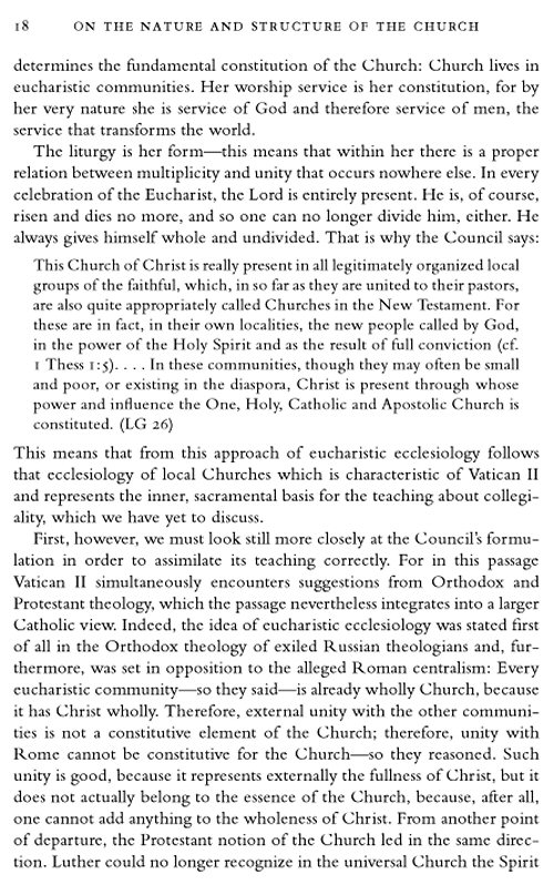 church ecclesiology ecumenism essay in new politics