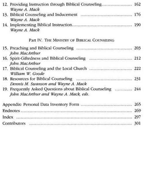 counseling how to counsel biblically macarthur pastors library