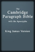 King James Version: Cambridge Paragraph Bible