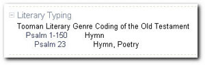 Literary Genre Coding Add-in