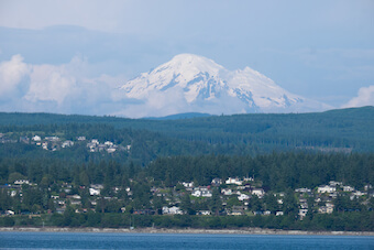 Mt. Baker on the Bellingham horizon