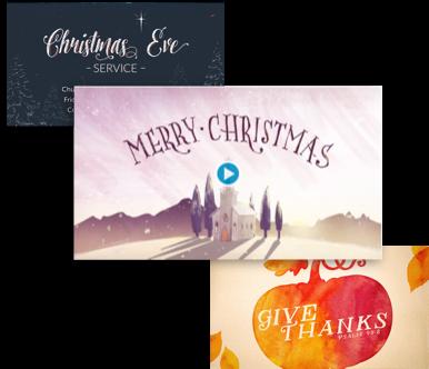 Free Holiday Sermon Media