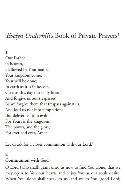 Evelyn Underhill's Prayer Book | Bible Study at its best - Logos