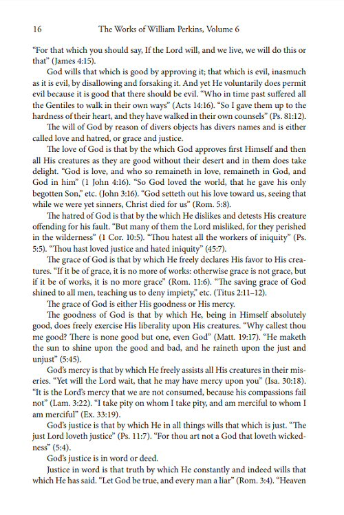 The Works of William Perkins, Volume 6 | Logos Bible Software