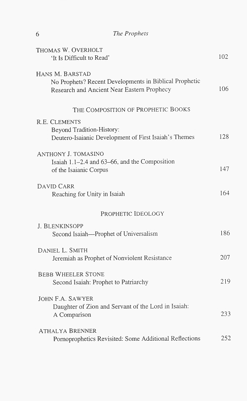 old testament essays journal Publishes articles on all aspects of old testament literature, theology, archaeology and society.