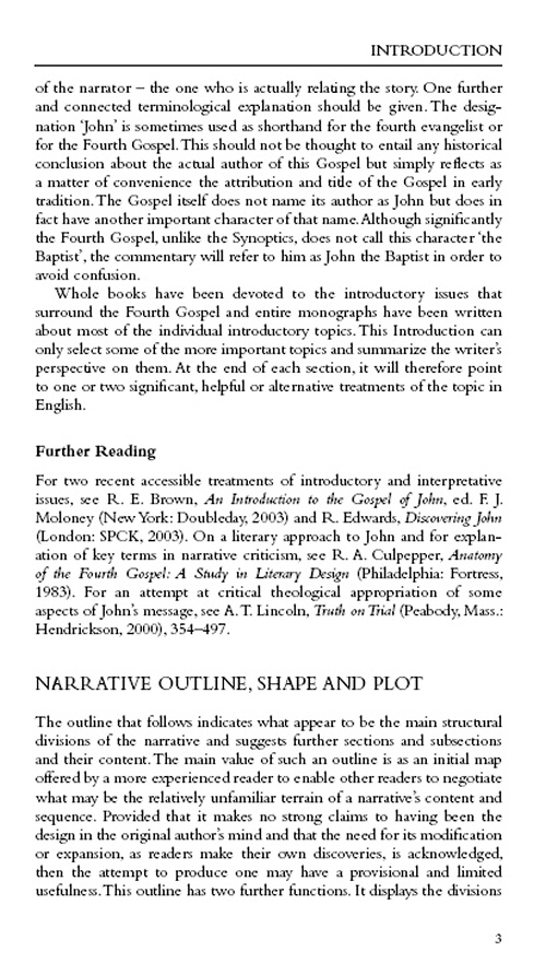 an analysis of the gospel according to john in the new testament Exegetical paper: prologue of john's gospel  in the gospel according to john, 68  of the fourth gospel a new testament book is not more.