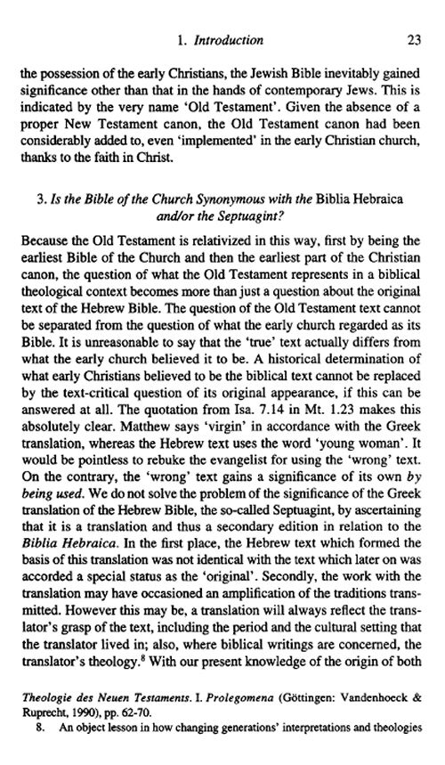 The First Bible of the Church: A Plea for the Septuagint | Bible
