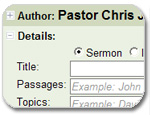 Sermon File Addin