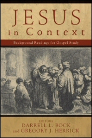 Jesus in Context book cover