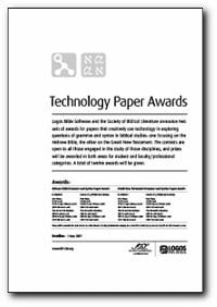 Awards for Academic Papers on Syntax | LogosTalk