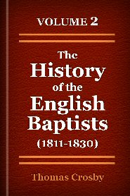 The History of the English Baptists, Vol. 2
