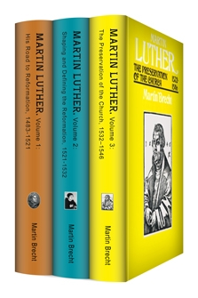 Martin Brecht's Martin Luther: A Biography (3 vols.)