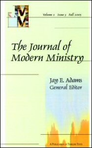 The Journal of Modern Ministry, Volume 2, Issue 3, Fall 2005