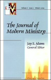 The Journal of Modern Ministry, Volume 6, Issue 1, Winter 2009