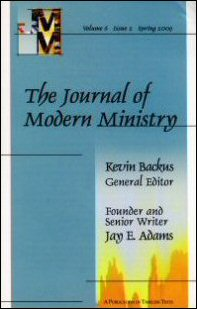 The Journal of Modern Ministry, Volume 6, Issue 2, Spring 2009