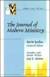 The Journal of Modern Ministry, Volume 6, Issue 3, Fall 2009