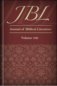 Journal of Biblical Literature, Volume 100