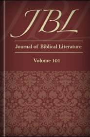 Journal of Biblical Literature, Volume 101