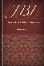 Journal of Biblical Literature, Volume 103