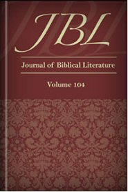 Journal of Biblical Literature, Volume 104