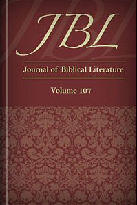 Journal of Biblical Literature, Volume 107