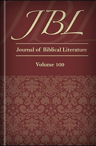 Journal of Biblical Literature, Volume 109