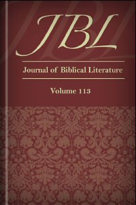 Journal of Biblical Literature, Volume 113