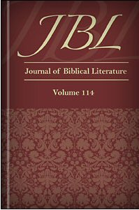 Journal of Biblical Literature, Volume 114