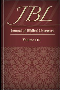 Journal of Biblical Literature, Volume 118