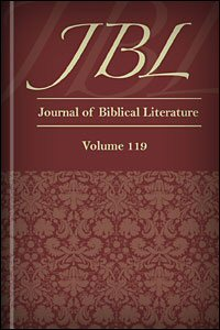 Journal of Biblical Literature, Volume 119