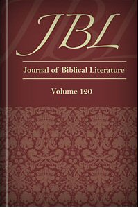 Journal of Biblical Literature, Volume 120