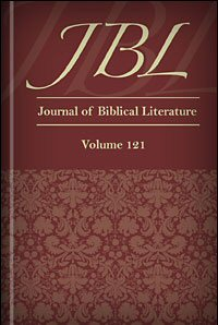Journal of Biblical Literature, Volume 121