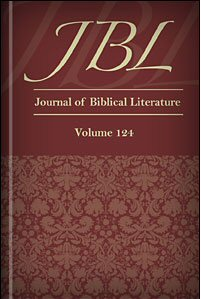 Journal of Biblical Literature, Volume 124