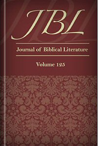 Journal of Biblical Literature, Volume 125