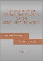 The Interlinear Literal Translation of the Greek (Newberry Interlinear)