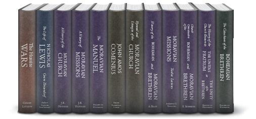 Moravian Church History Collection 12 Vols Logos