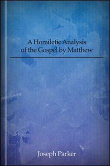 an analysis of the gospel of matthew in the bible Parallel texts in matthew, mark & luke 8 mustard & leaven  english synopsis analysis source  his freedom from the letter of other gospel.