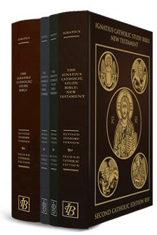 Ignatius Catholic Study Bible: New Testament, Genesis, Exodus, and the RSV2CE