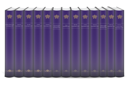 The Homilies, Audiences, and Other Writings of Pope Benedict XVI in English & Latin (13 vols.)