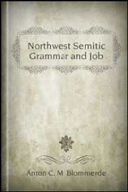 Northwest Semitic Grammar and Job