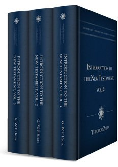 Theodor Zahn's Introduction to the New Testament (3 vols.)
