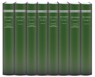 Thucydides' History of the Peloponnesian War (8 vols.)