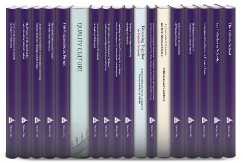 Congregation for Catholic Education Collection (18 vols.)