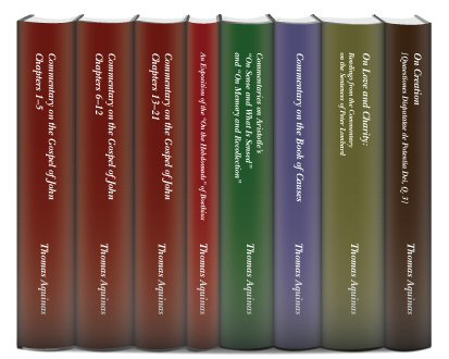 Thomas Aquinas in Translation (8 vols.)