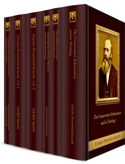 Charles Porterfield Krauth Collection (6 vols.)
