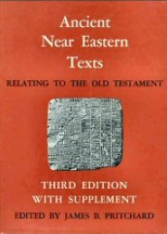 Ancient Near Eastern Texts