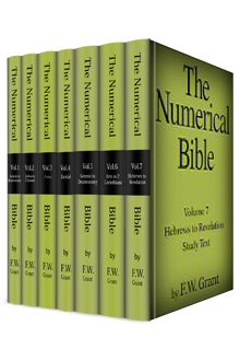 The Numerical Bible (7 vols.)